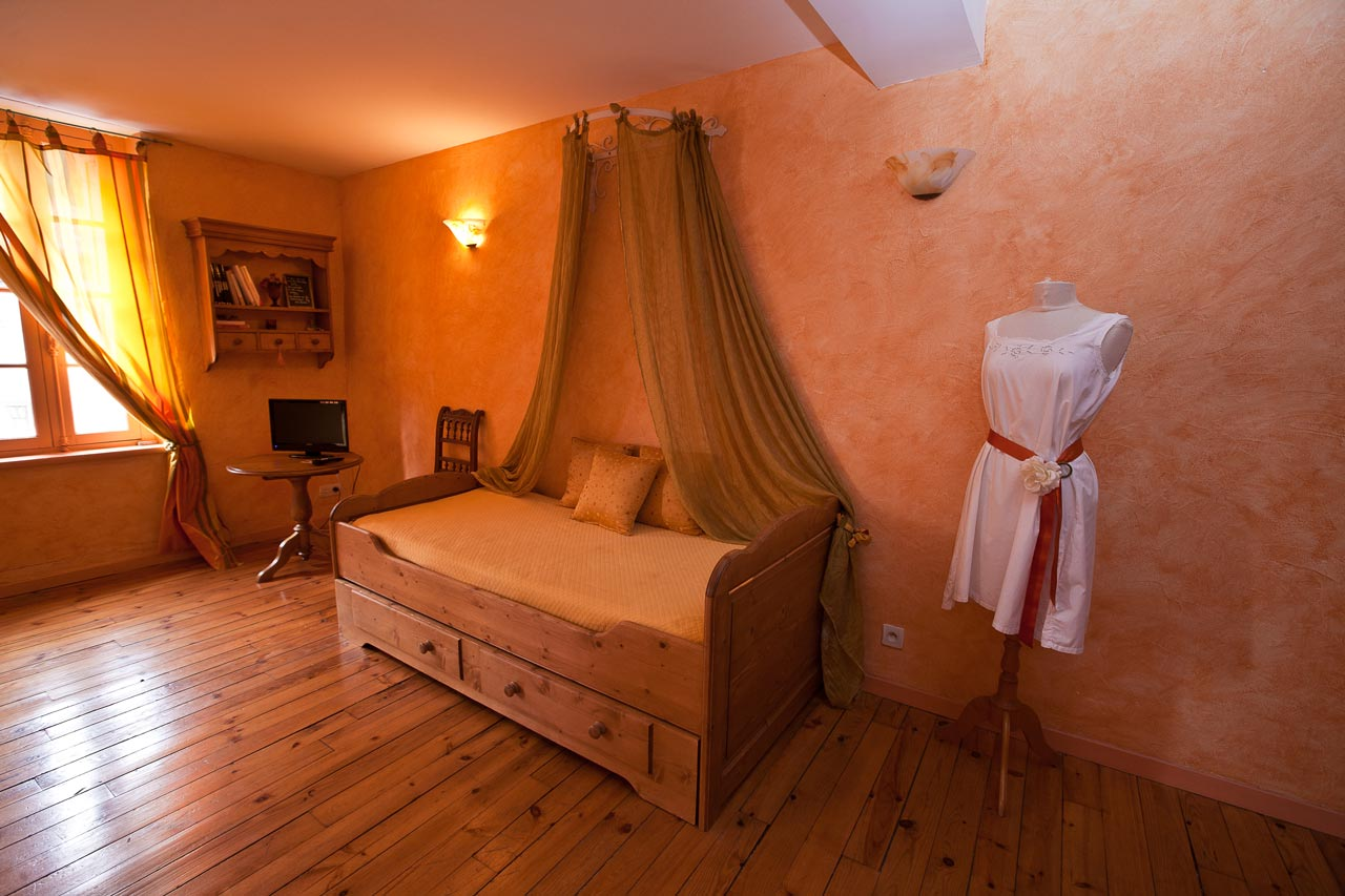 Les florentines la chambre mandarine chambres d h tes for Chambre d hote angouleme